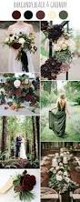 chic dark moody fall wedding ideas colors romantic
