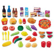 plaisir cuisine 48 pcs cuisine plaisir en plastique alimentaire jouet simulation de