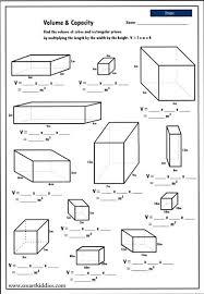 volume worksheets for 5th grade worksheets