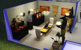 Egyptian Bedroom The Sims 3 Room Build Ideas And Examples