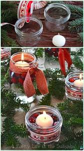 how to make mason jar lights with christmas lights diy christms holiday mason jar floating candle centerpiece