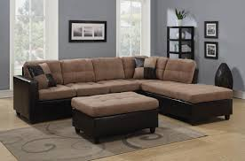 Sectional Sofa And Ottoman Set by Sofas Center Modern Leather Sectional Sofa With Recliners Grey