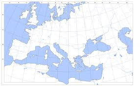 Map Of Africa And Europe by And North Africa Outline Map
