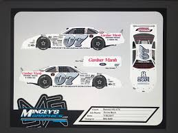 2017 paint schemes hickory motor speedway throwback short track event racing news