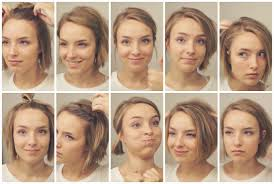 differnt styles to cut hair different ways to style a bob haircut lovely how to style short hair