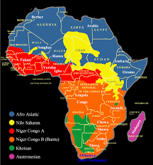 Africa Map Games by Spoken Languages Of African Countries Nations Online Project