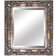 shop yosemite home decor antique golden beveled wall mirror at