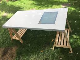 Drafting Table Light Box Home Decor Ikea Drafting Table Desk With Adjustable Top