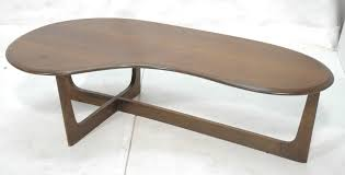 kidney bean shaped table kidney bean shaped coffee table coffee table design