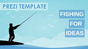 fishing for ideas prezi template youtube