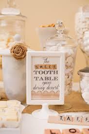 shabby chic scrabble inspired wedding dessert table dessert