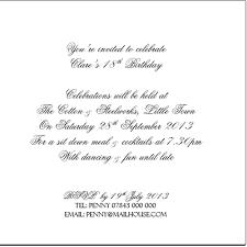birthday invitation wording samples kawaiitheo com