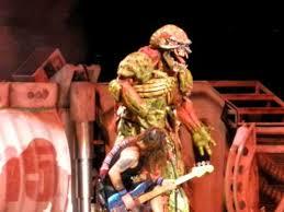 iron maiden iron maiden live with eddie on stage 7 18