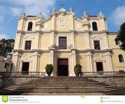 st joseph u0027s seminary and church in macao stock photo image