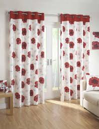 Gray Window Curtains Stunning Red And Gray Window Curtains On With Hd Resolution