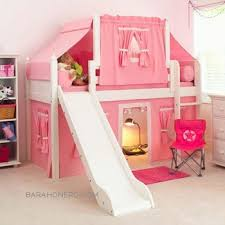 Bunk Beds Tent Bunk Bed With Slide And Stairs Beautiful The Truck Bed