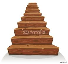 cartoon wood stairs for castle or old house construction wall cartoon wood stairs for castle or old house construction wall sticker