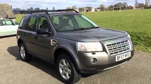 land rover freelander 2008 grey land rover freelander 2 2 2 td4 turbo diesel gs 4x4 4wd 6