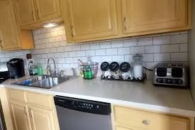 faux kitchen backsplash 13 removable kitchen backsplash ideas