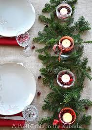 Christmas Centerpieces Diy by Simple U0026 Pretty Christmas Centrepieces A Pretty Life In The Suburbs