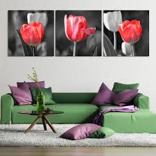 Home Decor Wall Paintings Large Art Red Promotion Shop For Promotional Large Art Red On