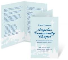 wedding church programs how to make church programs that look great paperdirect