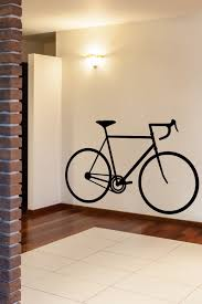 Bedroom Decals For Adults Bicycle Silhouette Wall Decals By Walltat Com