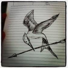 my mockingjay bird drawing by jimdrix on deviantart