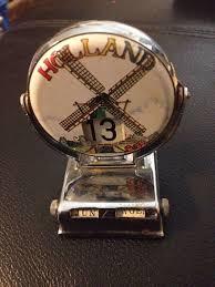 vintage perpetual flip calendar souvenir desk