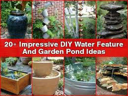 Garden Water Fountains Ideas Diy Ideas Diy Outdoor Water Inspire