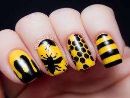 cute nail designs with black base choice image nail art designs