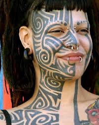 face tattoo tattoo on face designs ideas