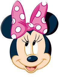 minnie mouse pink polka dot bow iron transfer