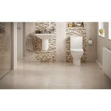 wickes bathrooms uk wickes brook beige porcelain tile 600 x 300mm wickes co uk