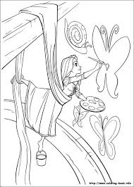 27 coloriage disney raiponce images