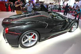 peugeot open top laferrari aperta at paris 2016 details and pictures of the open