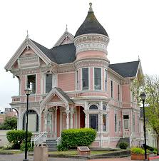 victorian houses victorian pink lady
