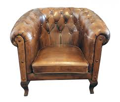 Art Deco Armchairs For Sale Art Deco Chesterfield Leather Club Chair For Sale At Pamono