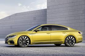 bentley rims on vw vw arteon revealed in full 2017 u0027s passat cc by car magazine