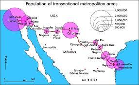 map usa mexico border no wall necessary the usa mexico border at nogales in 1915 geo