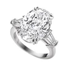 engagement ring prices harry winston classic winston oval diamond engagement ring