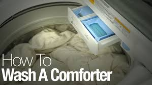 Drying Down Comforter Without Tennis Balls How To Wash And Dry A Comforter Or Duvet In The Washing Machine At