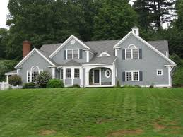contemporary homes gray and green grey house white trim what color