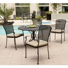 Black Rod Iron Patio Furniture How To Clean Rod Iron Patio Furniture