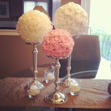 paper flower centerpieces looking baby girl chandeliers my diy paper flower