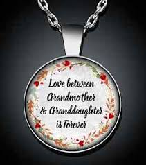 grandmother granddaughter necklace grandmother granddaughter necklace silver pendant new