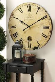 the use of oversized wall clocks anoceanview home design