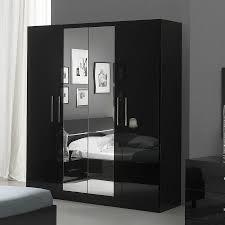 armoire laquée avec miroirs design elegance meubles