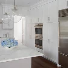 height of kitchen cabinets from floor pantry with ovens design ideas