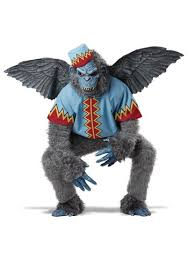 Halloween Costumes Monkey Scary Winged Monkey Costume
